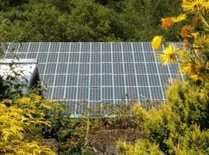 CAT solar roof