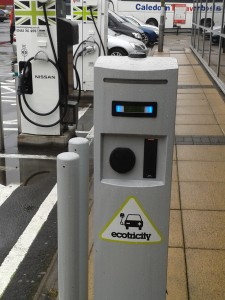 charging point for electric cars
